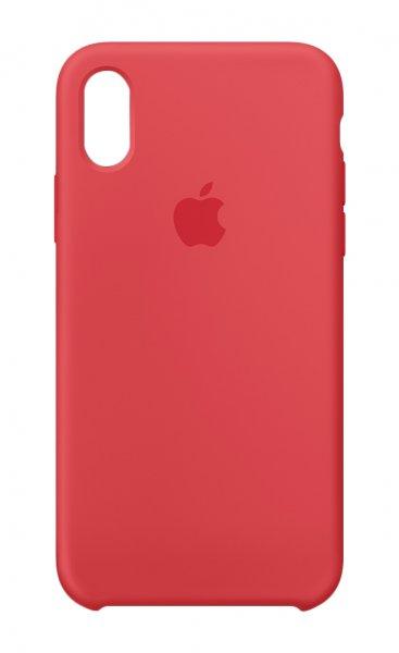 "Apple MRG12ZM/A - Custodia sottile - Apple - iPhone X - 14,7 cm (5.8"") - Rosso"