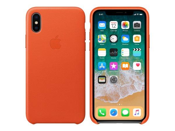 "Apple MRGK2ZM/A - Custodia sottile - Apple - iPhone X - 14,7 cm (5.8"") - Arancione"