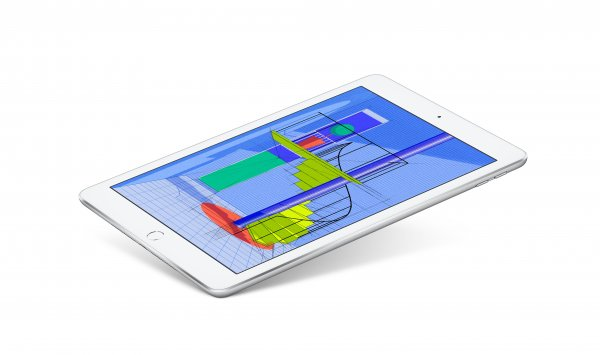"Apple iPad 9,7 WiFi 128 GB Argento - 9,7"" Tavoletta - A10 2,4 GHz 24,6cm-Display"