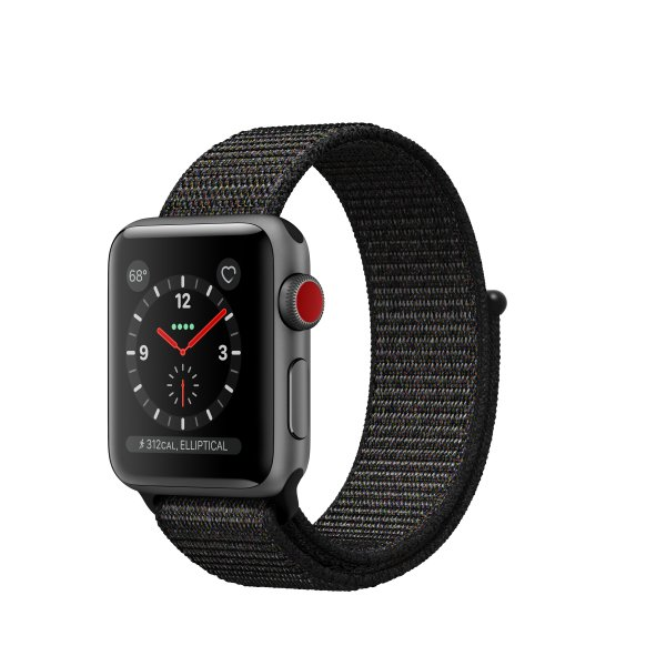 Apple Watch Watch Series 3 - OLED - Touch screen - GPS (satellitare) - Cellulare - 26,7 g - Grigio