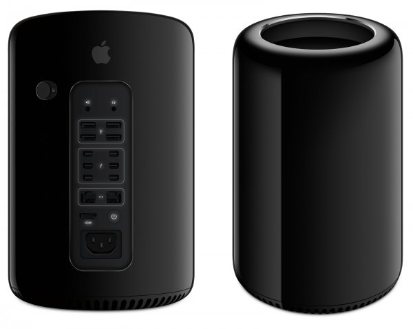 Apple Pro - Stazione di lavoro - Xeon E5 3,5 GHz - RAM: 16 GB DDR3, GDDR5 - HDD: 256 GB - Radeon Fir