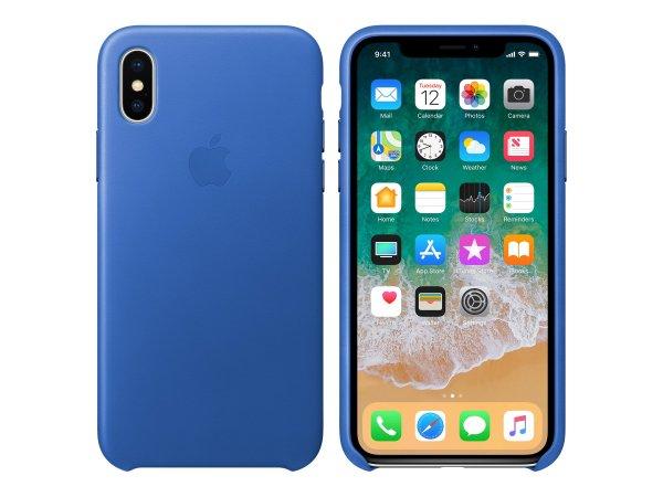 "Apple MRGG2ZM/A - Custodia sottile - Apple - iPhone X - 14,7 cm (5.8"") - Blu"