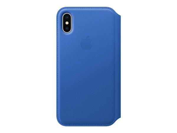 Apple MRGE2ZM - Custodia a libro - Apple - iPhone X - Blu