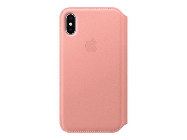 Apple MRGF2ZM - Custodia a libro - Apple - iPhone X - Oro rosa
